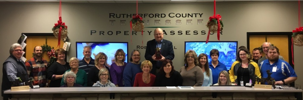 Rutherford County Assessor of Property receives 2018 Excellence in Operations award